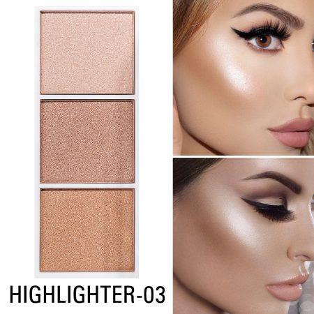 Defining Face Makeup Smooth Contour Highlighter Shimmer