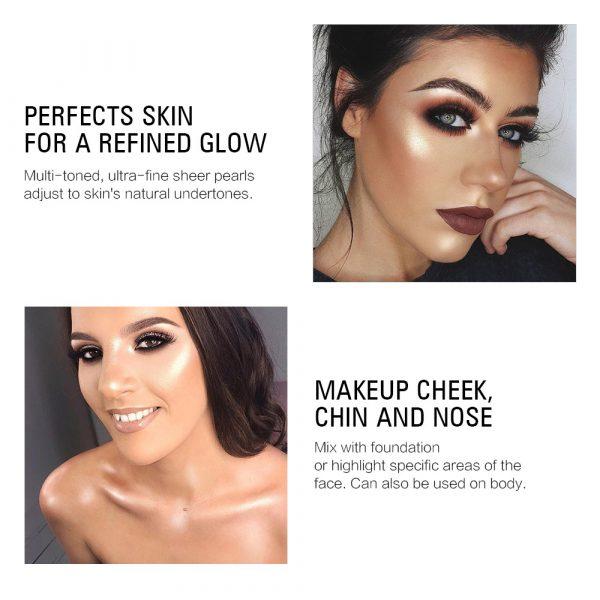Amazon.com : Strobing Liquid Highlighter Makeup Smooth